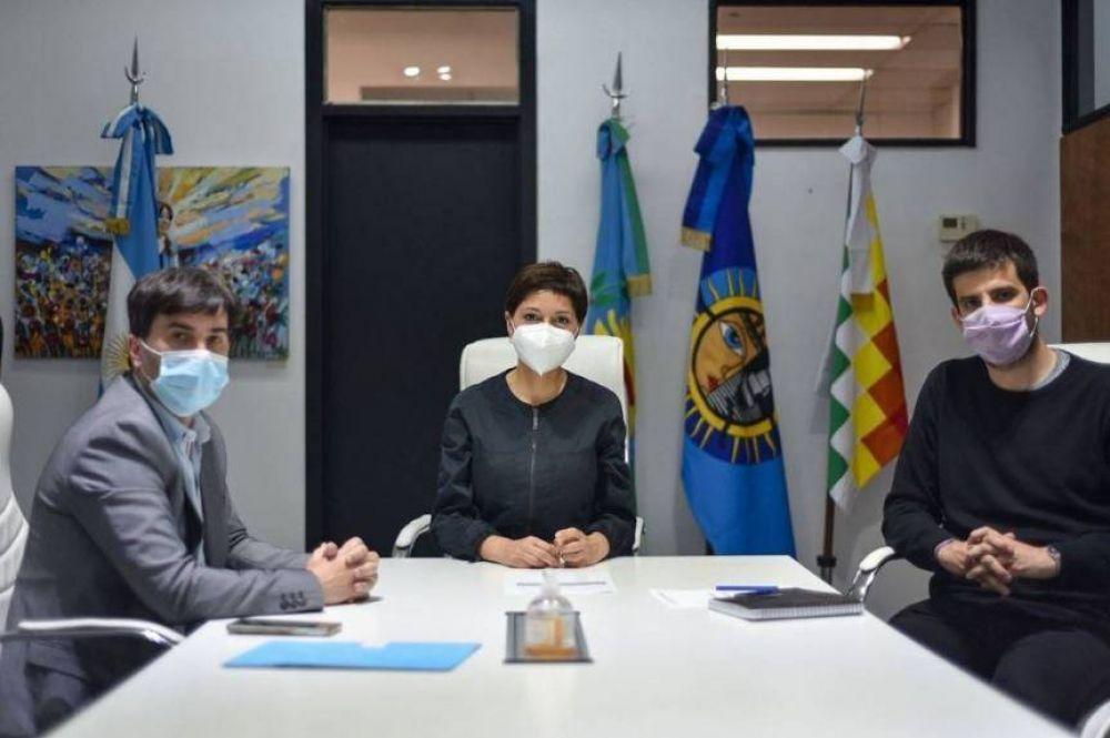 La Comuna de Quilmes y el ministerio de Transporte construirán 170 Paradas Seguras y una red de Ciclovías