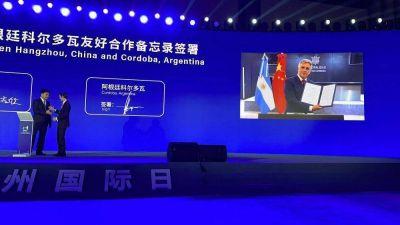 Córdoba y Hangzhou, dos ciudades hermanadas en economía digital