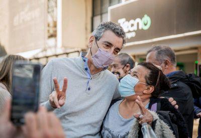 Randazzo cierra la campaña como la empezó, con críticas a la CGT: «Hay dirigentes que son unos burócratas; que son parte del problema. Hay que decirlo»