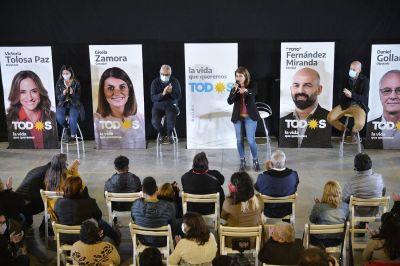 """Gisela Zamora en Don Torcuato: """"Quiero convocar a la comunidad a que nos acompañe este domingo para que unidos sigamos construyendo el Tigre y la vida que queremos"""""""
