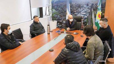 Grindetti se reunió con propietarios de ómnibus de transporte escolar