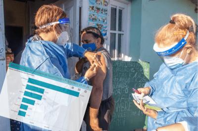 Coronavirus en el Oeste | Ya se aplicaron más de 3 millones de vacunas contra el Covid-19 en la región
