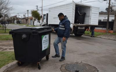 Instalaron contenedores en los barrios Zapiola y Parque Esperanza