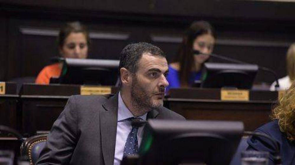 """El diputado Adrián Urreli se anticipa: """"Yo creo en el proyecto Néstor Grindetti gobernador en 2023"""""""