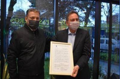 El municipio de Esteban Echeverría destacó el compromiso del Sindicato Pasteleros