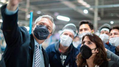 Dura crítica de Fernández a la política industrial que rigió durante el gobierno de Macri