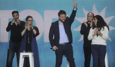 El Frente de Todos porteño cerró su campaña en el estadio de Ferro