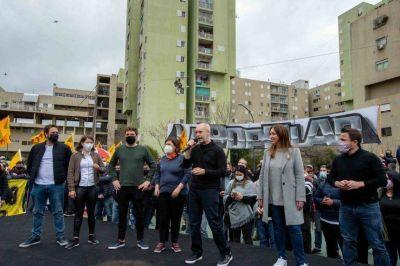Vidal y Ferrario cerraron la campaña electoral en el sur de la Ciudad