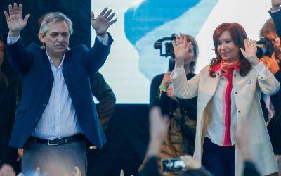 Adiós al Zoom, ataques a Macri y una foto pedida: el cierre de campaña del gobierno