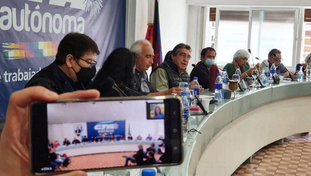 La CTA Autónoma hizo una cumbre de cara a sus elecciones de 2022 y analizó la situación del país