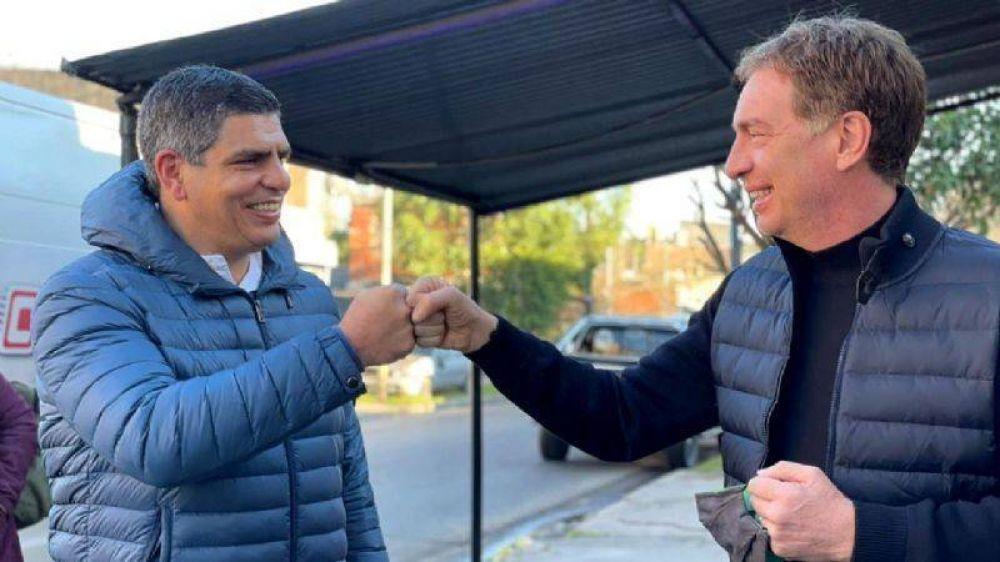 Los líderes de Juntos por el Cambio piden votar por Lucas Aparicio en Malvinas Argentinas