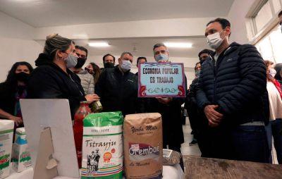 """Zabaleta en Tigre: """"Vamos a seguir invirtiendo recursos para potenciar a quienes trabajan y producen"""""""