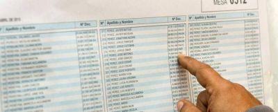 Debutan los nuevos circuitos electorales tras la subdivisión de los que abarcaban el noreste del distrito