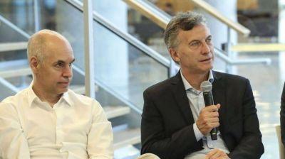 Por primera vez Larreta se mostró como el jefe político de Macri