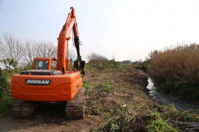 ACUMAR comenzará con las tareas de mantenimiento y perfilado en el arroyo Cañuelas