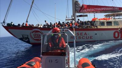Migrantes: Por primera vez un cura participa de una misión de rescate en el Mediterráneo