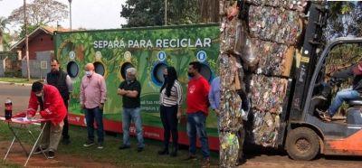Coca Cola firmó un convenio para separación y reciclaje de basura en Iguazú