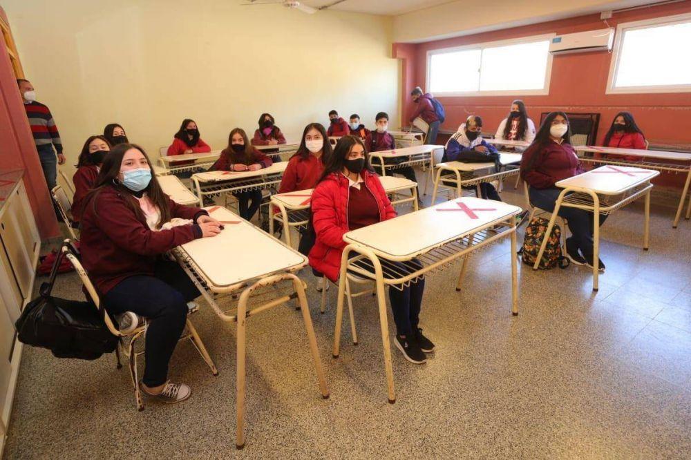 Tras las elecciones, será normal la actividad en las escuelas provinciales