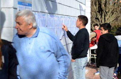 Los platenses votan para elegir concejales y diputados provinciales y nacionales