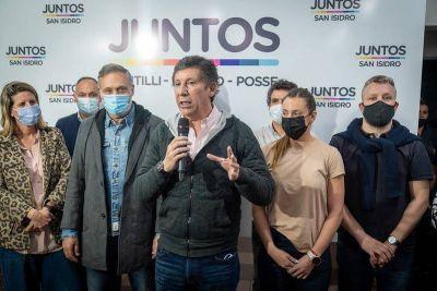 Contundente triunfo de la lista de Posse y Santilli en San Isidro
