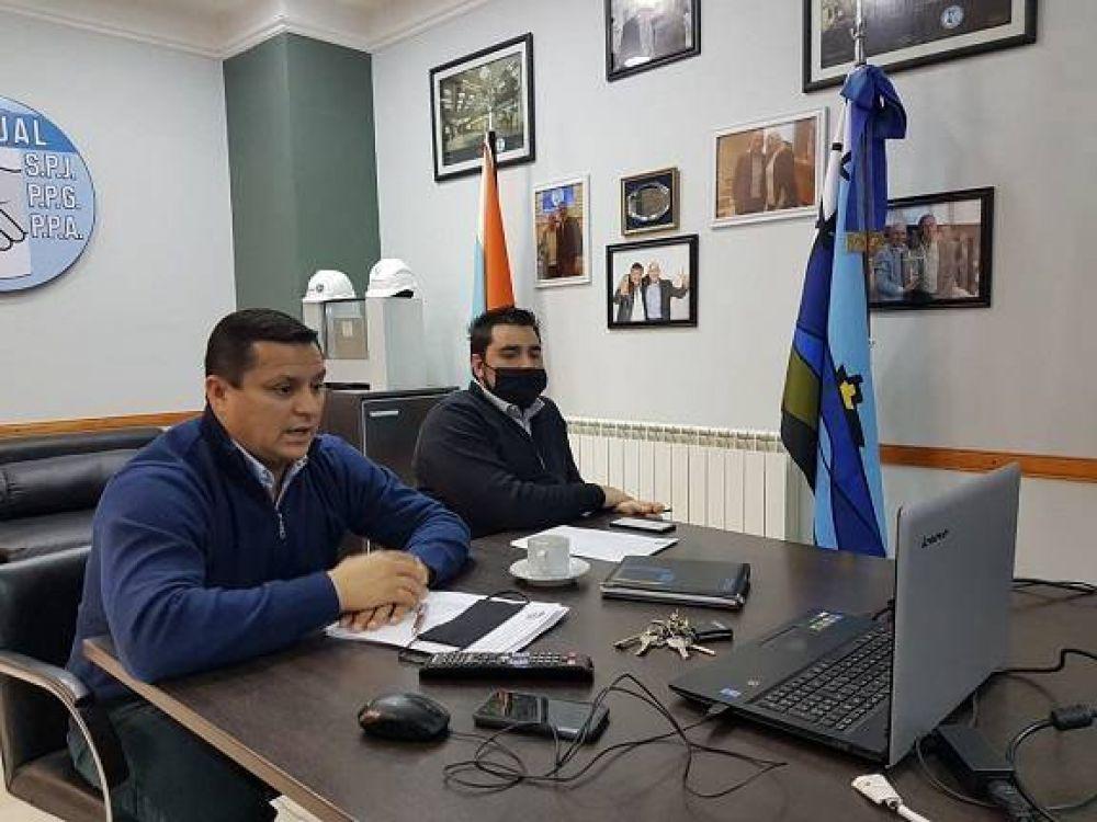 Villegas destacó la importancia de la realización del primer Plenario de líderes sindicales en San Julián