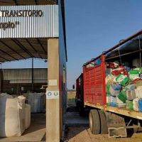 En el Centro de Acopio, nuevo cargamento de envases vacíos de fitosanitarios
