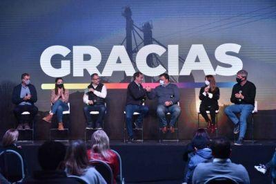 """Sin demorarse, Garro mostró a """"Juntos"""" unido, mandó un mensaje provincial y hay """"clima de 55%"""