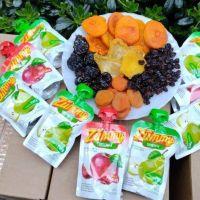 Del Sur a todo Mendoza: fruta seca y jugos con pulpa natural integran la dieta saludable de los niños