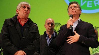 Envalentonado por el triunfo en las PASO, Macri lapidó a Moyano