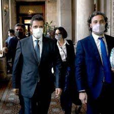Cumbre de Massa y Cafiero en la Rosada en medio de las versiones de cambio de gabinete