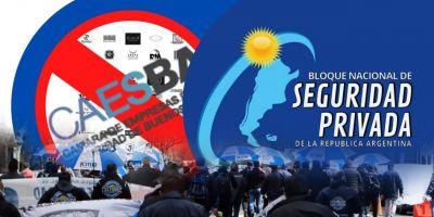 El Bloque Nacional de Seguridad Privada amplia la conflictividad con CAESBA