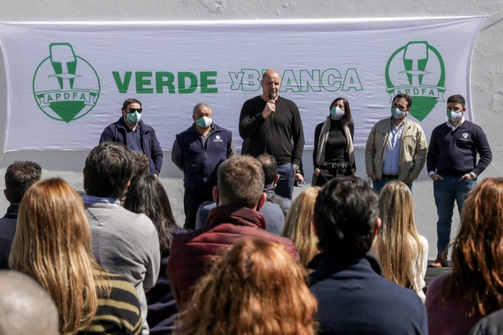 De cara a las elecciones en diciembre: Ferroviarios y Portuarios realizaron asamblea en el Puerto Dock Sud