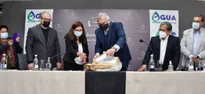 Ledesma: En marcha la primera planta de tratamiento cloacal