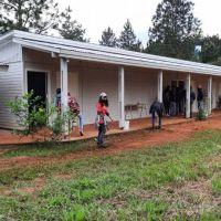 Programa de Viviendas Rurales del Iprodha asistió al IEA Nº 13 de Colonia Guaraní
