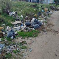 Mirador de Peralta Ramos, un barrio repleto de basura