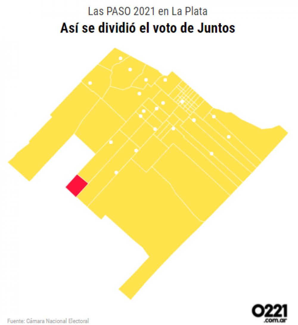La topadora PRO: el radicalismo solo ganó en un circuito en la interna de Juntos La Plata