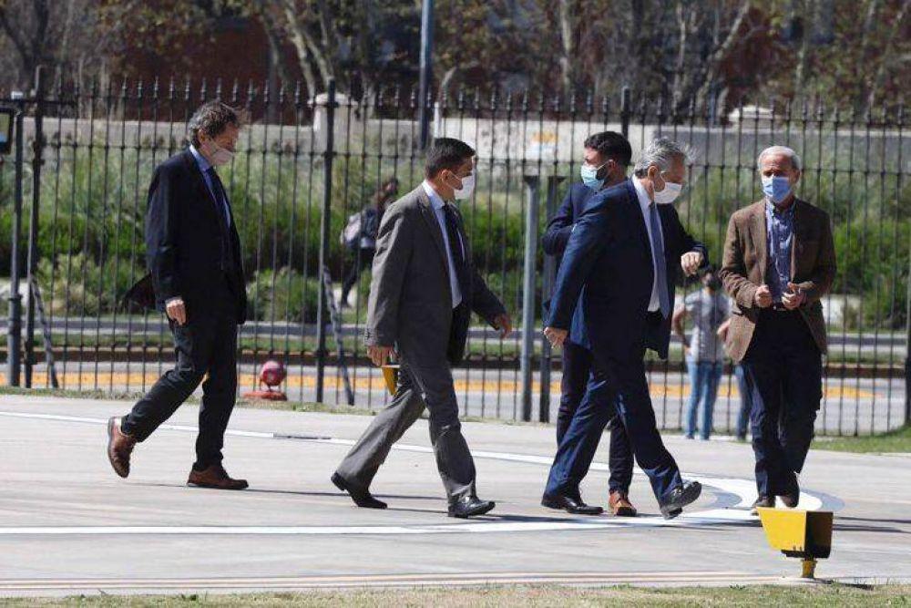 Alberto Fernández mantiene reuniones en Casa Rosada: danza de nombres para el nuevo Gabinete