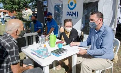 PAMI atenderá en las localidades