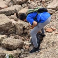 En apenas 2 horas recolectaron 40 kilos de basura de la costa