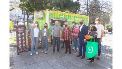 Residuos orgánicos: instalan composteras en Puntos Verdes de todas las comunas porteñas