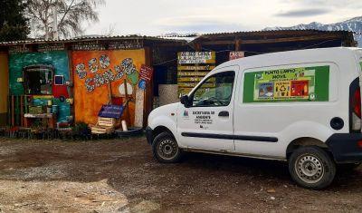 El municipio incorporó un Punto Limpio Móvil