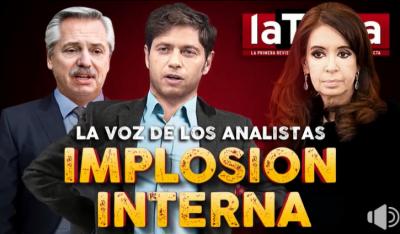 La voz de los analistas: implosión interna