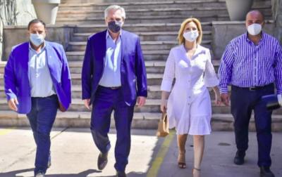 La cumbre con gobernadores y la agenda de Alberto Fernández en La Rioja después de la crisis
