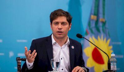 Kicillof confirmó los cambios en su Gabinete