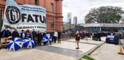 El Frente de Todos Universitario celebró la designación de Jaime Perczyk como ministro de Educación