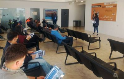 Ambiente capacitó a personal del Aeropuerto en manejo de residuos