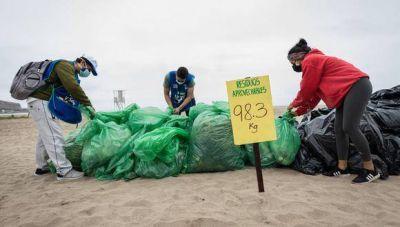 Municipalidad de Lima: recogen más de 8 toneladas de residuos sólidos en 15 playas