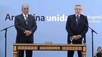 Con una conferencia de prensa de Juan Manzur y Vizzotti, debuta el nuevo gabinete de Alberto Fernández