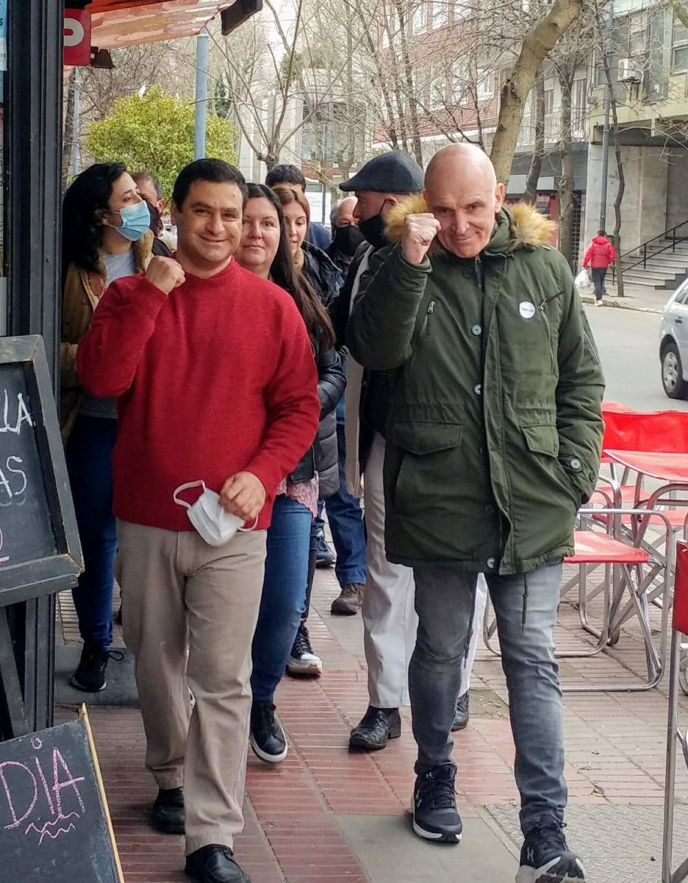 """""""Montenegro sigue sin conocer la ciudad"""" dice el candidato de Espert"""