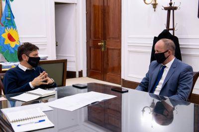 Kicillof se reunió con Insaurralde y diagramaron su plan de acción